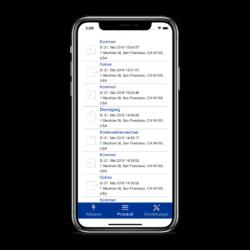 App für mobile Zeiterfassung